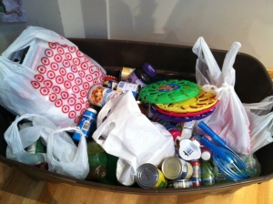 One of our Outreach Project supply bins