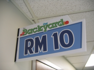 Across the hall from our Preschool classrooms is a corresponding wall sign