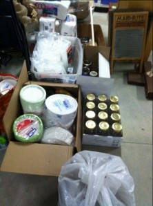 A few of our donated items