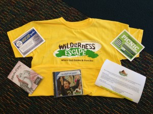 Each camper will receive a bag with these items