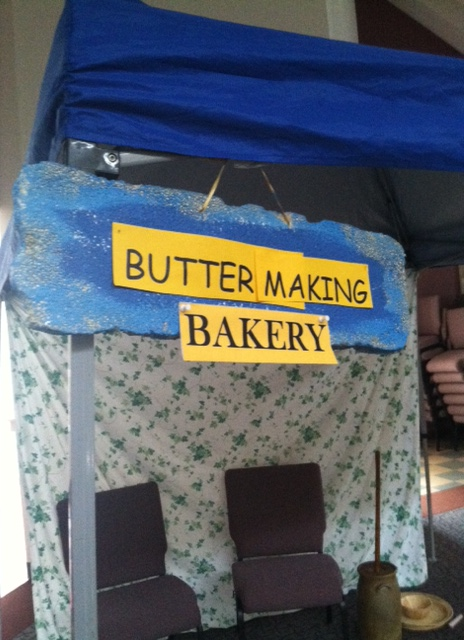Bakery & Butter Making Tent