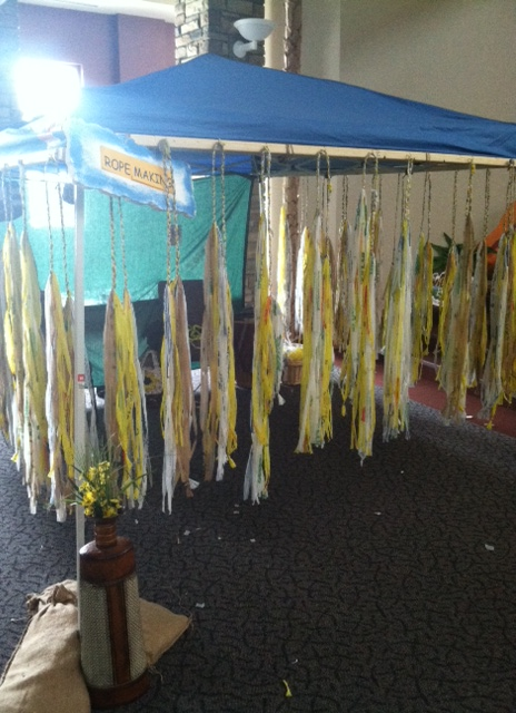 Rope Making Tent
