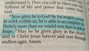 Ephesians 3:20, NLT