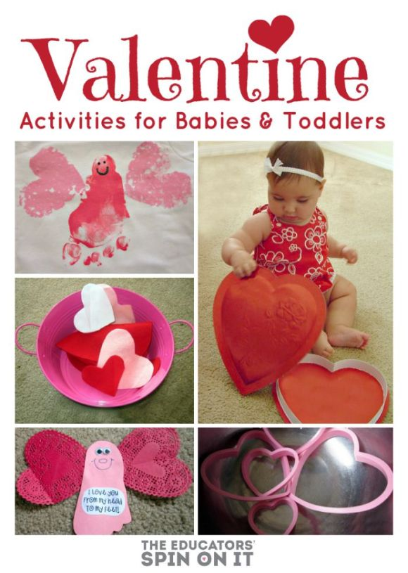 Valentine Crafts - Baby & Toddler