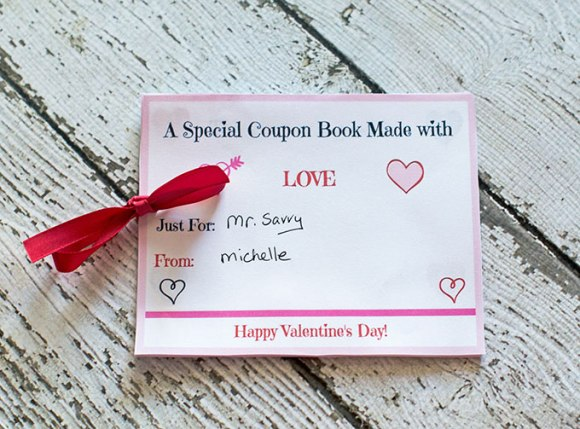 Valentine Crafts - Coupon Book