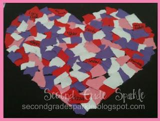 Valentine Crafts - Heart Mosaic