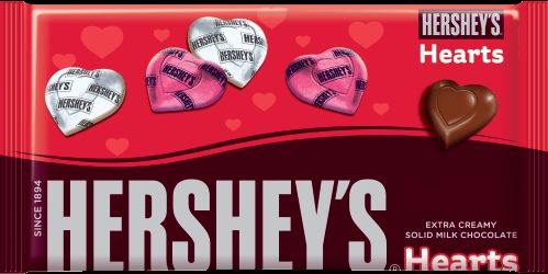 Valentine Treats - Hersheys