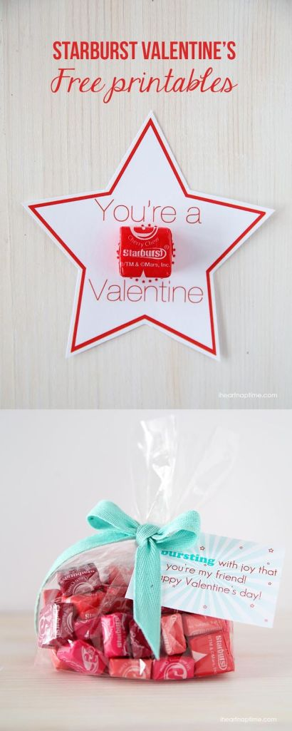 Valentine Treats - Starburst