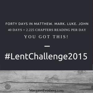 margaret feinberg lent challenge 2015