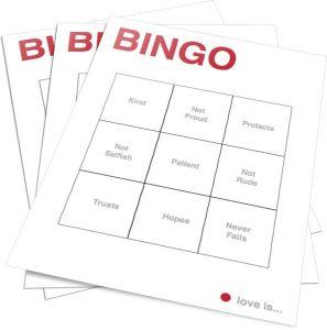 Valentine Game - Bingo