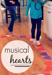 Valentine Game - Musical Hearts